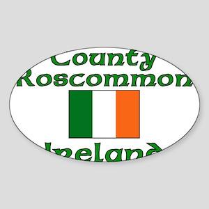 County Roscommon, Ireland Oval Sticker