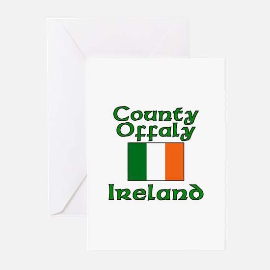 County Offaly, Ireland Greeting Cards (Package of