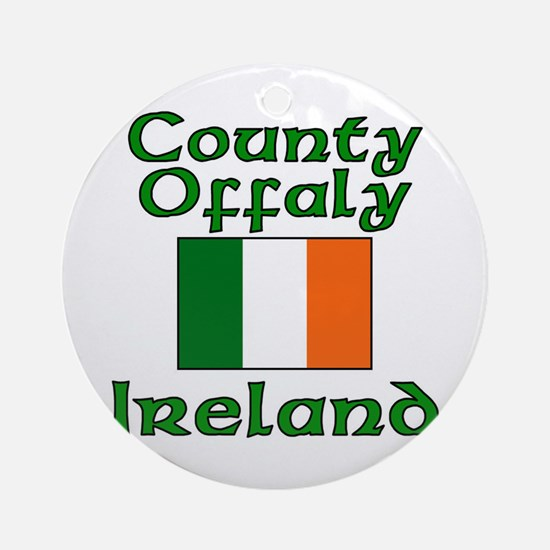County Offaly, Ireland Ornament (Round)