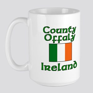 County Offaly, Ireland Large Mug