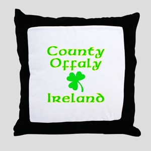 County Offaly, Ireland Throw Pillow