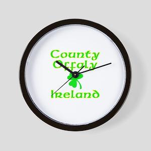 County Offaly, Ireland Wall Clock
