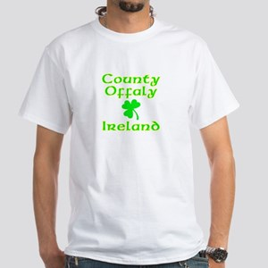 County Offaly, Ireland White T-Shirt