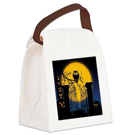 Spooky Halloween 4 Canvas Lunch Bag