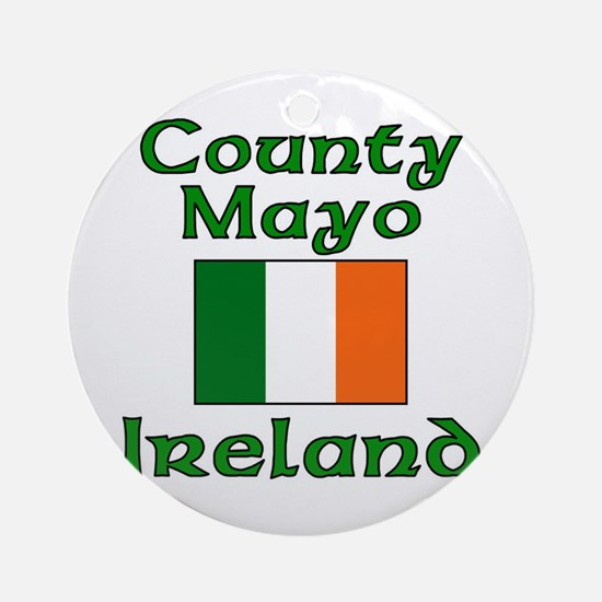 County Mayo, Ireland Ornament (Round)