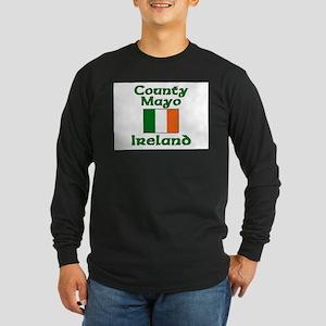 County Mayo, Ireland Long Sleeve Dark T-Shirt