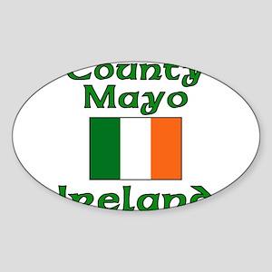 County Mayo, Ireland Oval Sticker