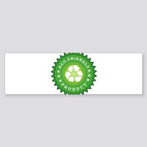 ECO Friendly Product Bumper Sticker