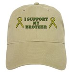 I Support My Brother Cap (White or Khaki)