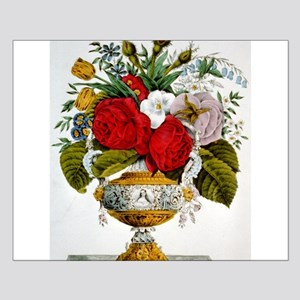 The vase of flowers - 1847 Small Poster