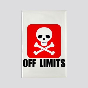 OFF LIMITS Rectangle Magnet