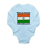 Babies american indian name Long Sleeves Bodysuits