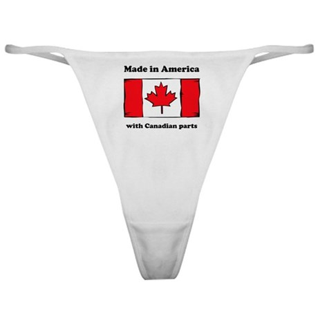 Made In America With Canadian Parts Classic Thong