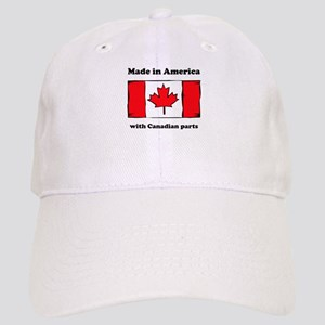 Made In America With Canadian Parts Cap