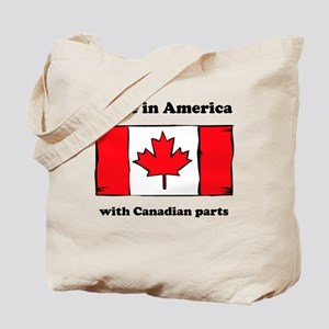 Made In America With Canadian Parts Tote Bag