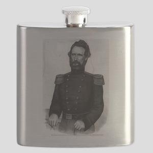 Brig. General Nathl. Lyon - 1861 Flask
