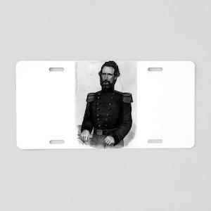 Brig. General Nathl. Lyon - 1861 Aluminum License