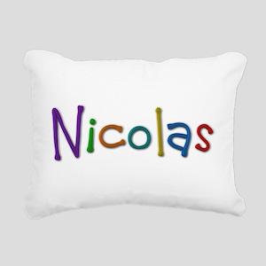 Nicolas Play Clay Rectangular Canvas Pillow