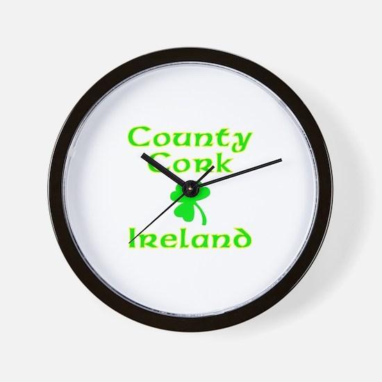 County Cork, Ireland Wall Clock