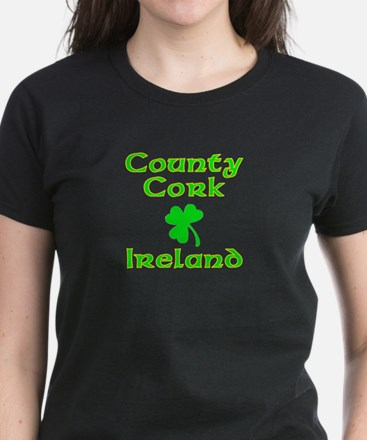 County Cork, Ireland Women's Dark T-Shirt