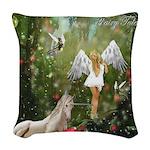 Fairy Tales Woven Throw Pillow