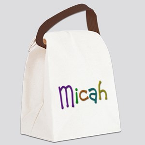 Micah Play Clay Canvas Lunch Bag