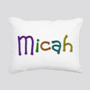 Micah Play Clay Rectangular Canvas Pillow