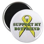 I Support My Boyfriend Magnet