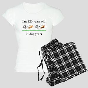 60 birthday dog years 1 Pajamas