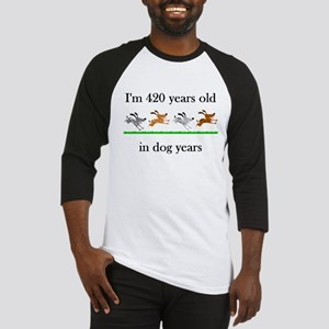 60 birthday dog years 1 Baseball Jersey