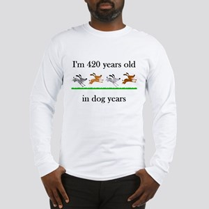 60 birthday dog years 1 Long Sleeve T-Shirt