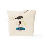 Rainy Day at the Beach Tote Bag
