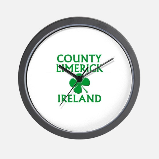 County Limerick, Ireland Wall Clock