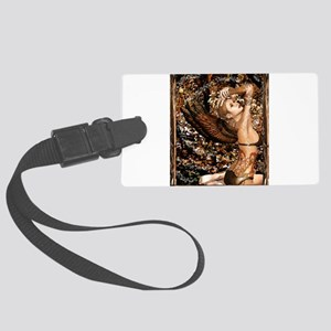 Forest Fae 1ab Large Luggage Tag