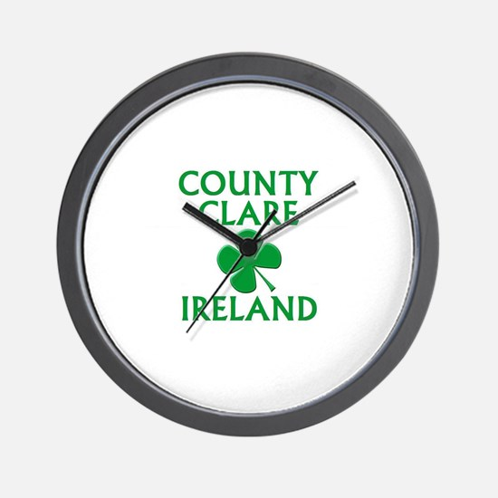 County Clare, Ireland Wall Clock