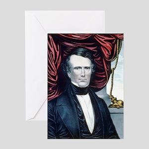 9bbfa90070d3a Franklin Pierce Greeting Cards - CafePress
