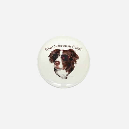 Border Collie Cool! Mini Button
