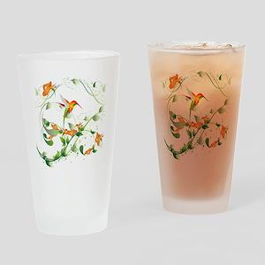 Hummingbird Morning Drinking Glass