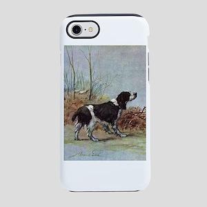 Springer Spaniel Watercolor iPhone 7 Tough Case
