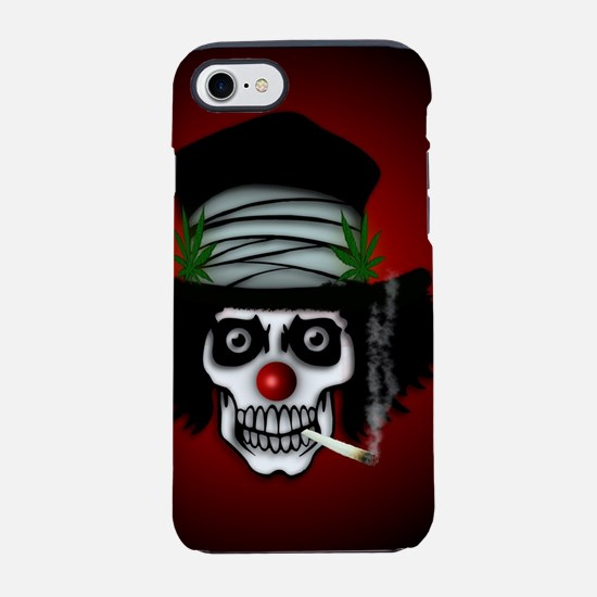 Toking Skeleton Clown iPhone 7 Tough Case