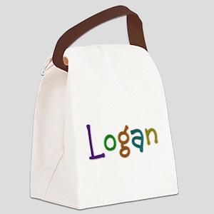 Logan Play Clay Canvas Lunch Bag