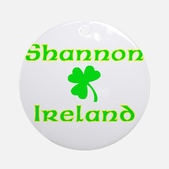 Shannon, Ireland Ornament (Round)
