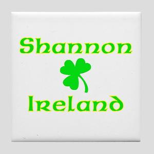 Shannon, Ireland Tile Coaster