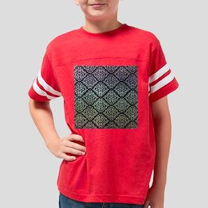 Cool Urban Rainbow Damask Youth Football Shirt