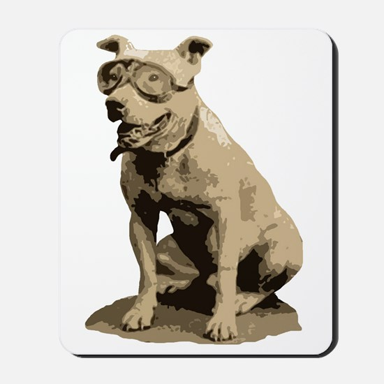 Vintage Pit Bull Mousepad