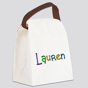 Lauren Play Clay Canvas Lunch Bag