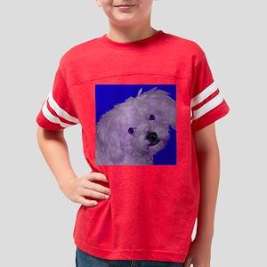 Maltepoo_blue Youth Football Shirt