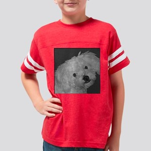 Maltepoo_bw Youth Football Shirt