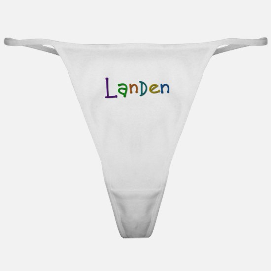 Landen Play Clay Classic Thong