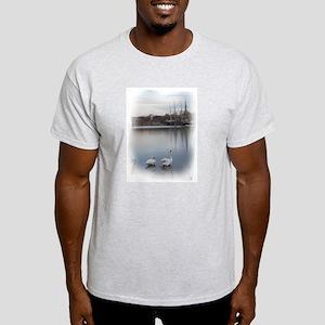 Seaport Swans --  Light T-Shirt
